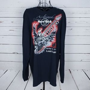 Hard Rock Cafe Graphic Long Sleeve Top